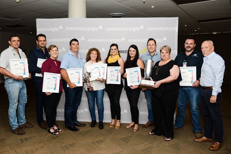Gold Award Winners at Homemakers Expo
