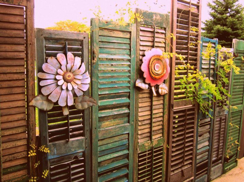 Reuse & Recycle Your Used Privacy Shutters