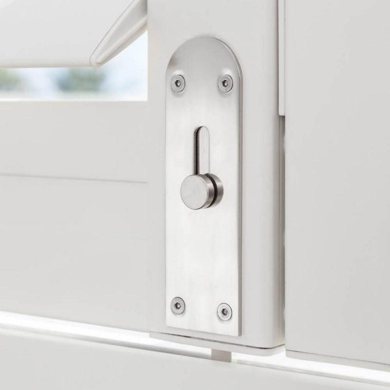 Security Shutters Patented Locking System