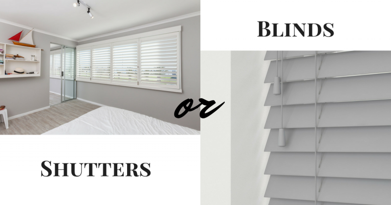 Shutters or Blinds